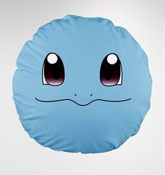 Pokemon Inspired Kawaii Squirtle Pillow - $24.99 http://thecustomshoppe.storenvy.com/products/2144754-pokemon-inspired-kawaii-squirtle-pillow