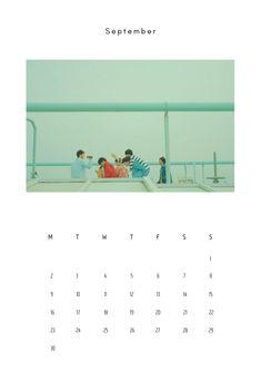 Bts Calendar, Calendar 2019 Printable, September Calendar, Print Calendar, 2019 Calendar, Calendar Wallpaper, Bts Wallpaper, Lock Screen Backgrounds, Aesthetic Design