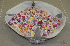 Corbeille décorative en lin Artisan (http://www.couturelin.com/catalogsearch/result/?q=artisan) Tuto sur le blog de Couture Lin
