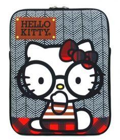 The Giant Peach - Loungefly - Hello Kitty Big Round Glasses Nerd Ipad Case, $40.00 (http://www.thegiantpeach.com/loungefly-hello-kitty-big-round-glasses-nerd-ipad-case/)
