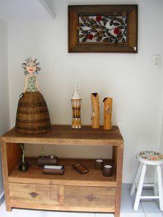 Casa - Decoração - Reciclados: Madeira de Demolição - Móveis da Era Eco-decor!