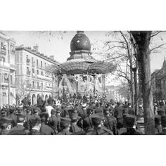 1916 LA JURA DE LA BANDERA EN ZARAGOZA. ASPECTO DEL PASEO DE LA INDEPENDENCIA DURANTE LA MISA DE CAMPAÑA. FOTO: SÁNCHEZ ROMÁN: Descarga y compra fotografías históricas en | abcfoto.abc.es