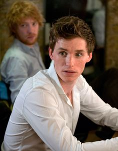 Addicted to Eddie: Eddie about to go on stage - Simon Annand backstage photos http://addictedtoeddie.blogspot.hu/2015/03/simon-annand-backstage-photos.html Eddie Redmayne and Domhnall Gleeson in 'Now or later' at the Royal Court Theatre London 28 October 2008
