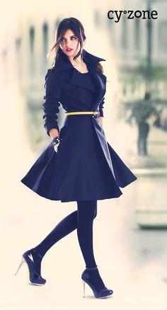Los atraes, las inspiras... así eres tú! State Chic de Cyzone www.cyzone.com
