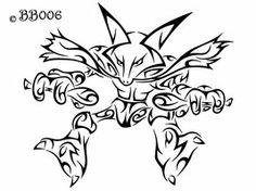 #065: Tribal Alakazam by blackbutterfly006