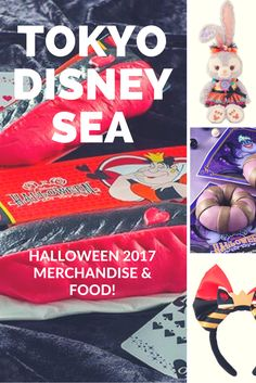 List of merchandise and food for Halloween 2017 at Tokyo DisneySea. The perfect way to budget your trip.