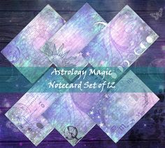 Download and Print today! Note Cards, Astrology, Fox, Printables, Your Image, Messages, Digital, Design, Index Cards