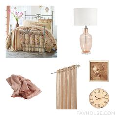 Home Decor Wishlist Featuring Bed Glass Table Lamp Blanket And Home Decorators Collection From October 2016 #home #decor