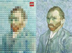We're getting a kick out of these LEGO versions of famous works of art by Geometry Global. We're getting a kick out of these LEGO versions of famous w...