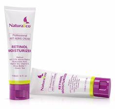 Retinol Skin Care Anti-Aging Wrinkle Treatment, Retinol Face Moisturizing Cream #Naturalico
