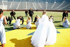 YES - You can have your wedding in the 'Big House' now in Ann Arbor, MI! http://visitannarbor.org