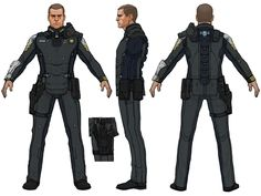 Halo 4 Art & Pictures,  UNSC Fleet Officer Lasky