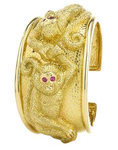 Year of the Monkey - David Webb bracelet