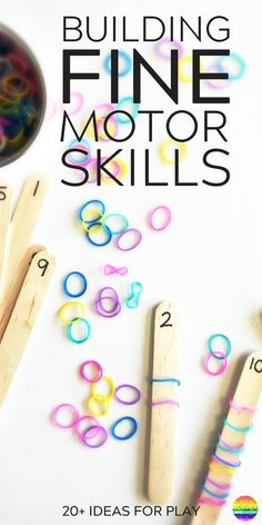 20+ SIMPLE HANDS ON ACTIVITIES THAT HELP BUILD FINE MOTOR SKILLS