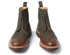 Christopher Raeburn X Grenson Boots wingtip lace-up brogues