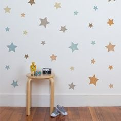 Make your little one's room a star with our cool star wall stickers. The perfect way to add a bit of colour and detail to their bedroom or nursery in a nice subtle way. Makes an adorable and versatile gift. Boys Wall Stickers, Wall Decor Stickers, Wall Decals, Star Nursery, Nursery Decor, Bedroom Decor, Nursery Ideas, Bedroom Ideas, Boy Toddler Bedroom