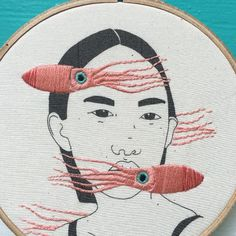 Grand Sewing Embroidery Designs At Home Ideas. Beauteous Finished Sewing Embroidery Designs At Home Ideas. Embroidery Floss Projects, Dmc Embroidery Floss, Hand Embroidery Stitches, Crewel Embroidery, Hand Embroidery Designs, Embroidery Techniques, Embroidery Kits, Cross Stitch Embroidery, Machine Embroidery