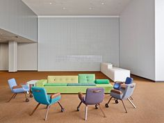 North Delegates Lounge by Dutch Creative Team - News - Frameweb
