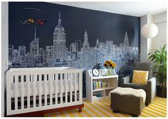 london nursery, add Peter Pan stuff