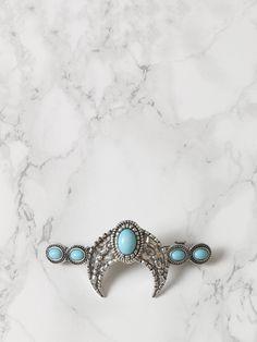 Blue Moon Hair Clip - Gypsy Warrior