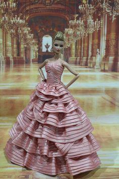 Evening dress for Fashion royalty / silkstone  doll by t.d.fashion 29/05/13 #FASHIONROYALTYDOLLS