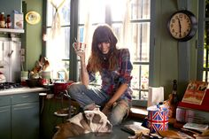 lou doillon by garance dore for free people