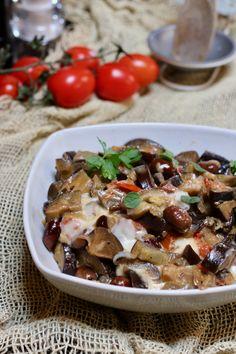 melanzane alla mediterranea - creando si impara Low Carb Desserts, Low Carb Recipes, Cooking Recipes, Healthy Recipes, Low Carb Lunch, Low Carb Breakfast, Healthy Fats, Healthy Snacks, Low Carb Brasil