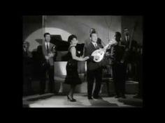 Χιώτης Λίντα - Θάλασσα μόνο κι ουρανός & Ο Χασάν Αγάς 1962 Live - YouTube