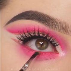Emo Makeup, No Eyeliner Makeup, Eye Makeup Tips, Makeup Videos, Beauty Makeup, Makeup Eye Looks, Beautiful Eye Makeup, Beautiful Eyes, Bright Eyeshadow