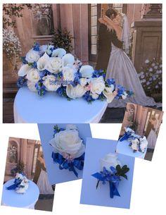 Custom Silk Texas Bluebonnet Bridal Bouquets 13 by BridalBouquets