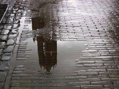 Utrecht  weerspiegeling  Dom
