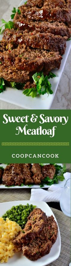 Sweet meets savory to jazz up a traditional, family dinner. This meatloaf recipe is a no brainer! Kid friendly too! Definitely one to save!