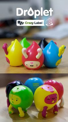 Droplet Vinyl Toys ~ The Latest Samples! | Flickr - Photo Sharing!
