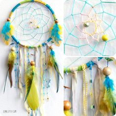 The Little Hummingbird Native Woven Dreamcatcher by eenk on Etsy