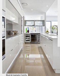 Best Of Big Kitchen Ideas Modern Interior Design Kitchen Interior floor Contemporary white kitchen Perfect for your dream Kitchen Design Small, Kitchen Flooring, Kitchen Remodel, Modern Kitchen, Contemporary Kitchen, Big Kitchen, Home Kitchens, Kitchen Renovation, Kitchen Design