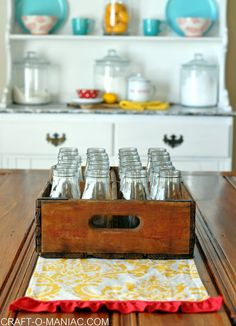 vintage soda crates www.craft-o-maniac.com