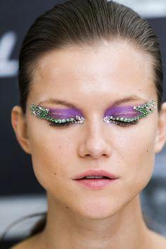 Christian Dior spring 2012, via @Beauty Blitz