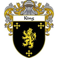 King family crest England