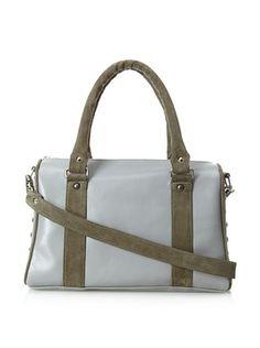 60% OFF JJ Winters Women's Nina Doctor Bag, Grey