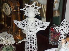 handmade crochet angel by Chefdeboeuvre on Etsy, $27.00