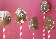 Gingerbread Cake Pops