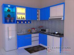Malang, Kitchen Baskets, Kitchen Ideas, Kitchen Modular, Tv Unit, Modern Kitchen Design, Dining Room Design, Kitchen Cabinets, Interior