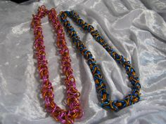 Chainmaille Byzantine Necklace by RandomJewelry on Etsy, $20.00