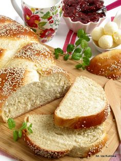 Polish Recipes, My Recipes, Bread Recipes, Polish Food, Yeast Bread, Sweet Bread, International Recipes, French Toast, Food Photography