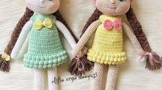 The Amyguru of the Girl Amigurumi Patterns, Crochet Patterns, Free Crochet, Origami, Reusable Tote Bags, Teddy Bear, Blanket, Dolls, Christmas Ornaments