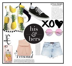 """""""summer #2"""" by fe007790-1 on Polyvore featuring New Look, Alexander Wang, Vans and Casetify"""