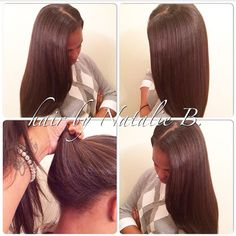 Most realistic-looking sew-ins in Chicagoland...PERFECT PONY SEW-IN HAIR WEAVES by Natalie B. (312) 273-8693...IG: @icartistry ...FACEBOOK: Inner Circle Artistry...ORDER HAIR: www.naturalgirlhair.com.