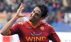 ~ Luca Toni on AS Roma with his iconic goal celebration ~