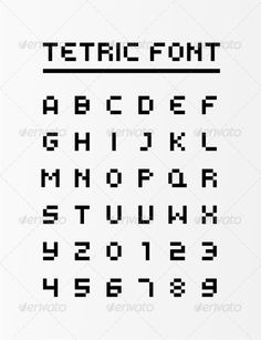 VECTOR DOWNLOAD (.ai, .psd) :: http://jquery.re/pinterest-itmid-1002741688i.html ... Tetric Glyphs ...  abc, abc vector, alphabet, alphabet vector, editable, font, game, papercut, papercut font, resizable, sharp, square font, tetris, tetris font, typography, vector font  ... Vectors Graphics Design Illustration Isolated Vector Templates Textures Stock Business Realistic eCommerce Wordpress Infographics Element Print Webdesign ... DOWNLOAD :: http://jquery.re/pinterest-itmid-1002741688i.html