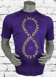 d3044c1dfac The ΩΨΦ 8-vs-80 Men s Athletic T-Shirt features signature details on